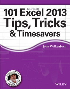 101_Excel 2013 Tips Tricks and Timesavers